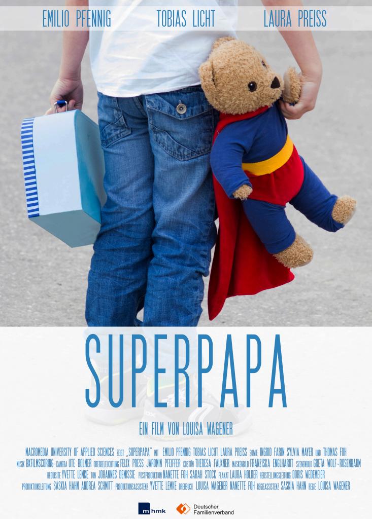 Filmplakat Superpapa ganz