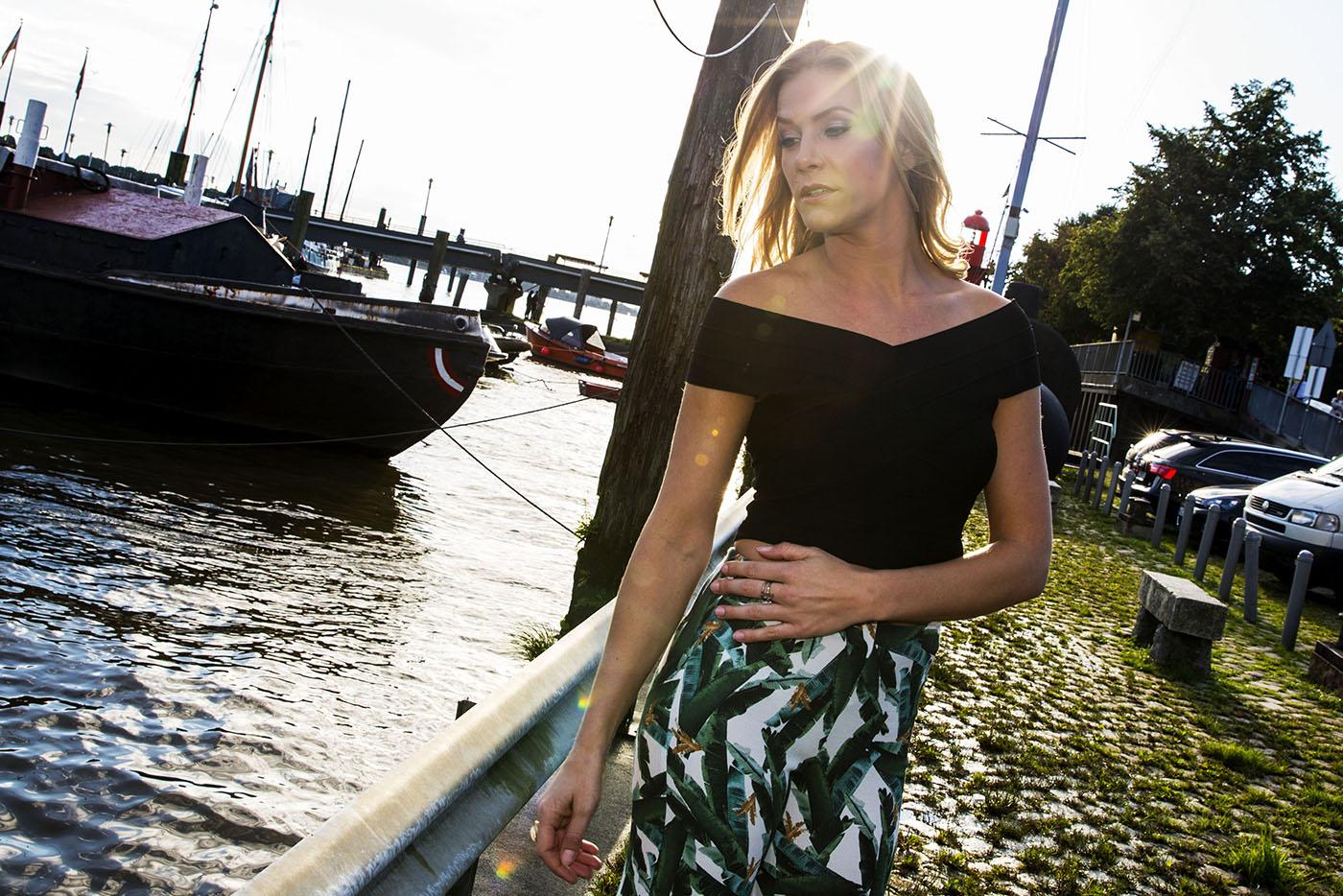 Schauspielerin Laura Preiss in Hamburg Copyright: Christina Czybik / ActionPress